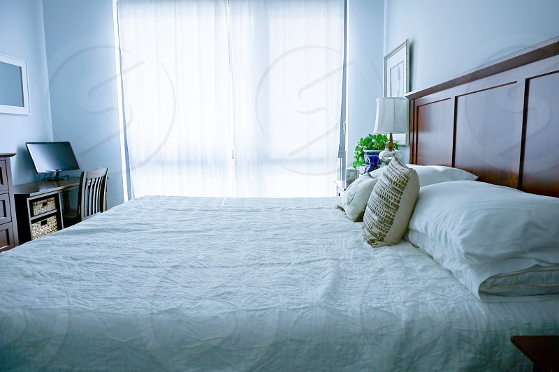 Life as a renter bedroom bed bedroom decor  photo