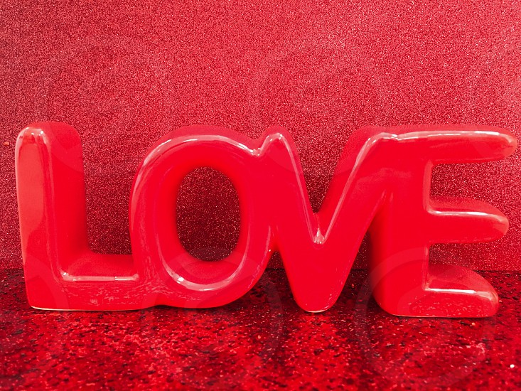 Red love  photo