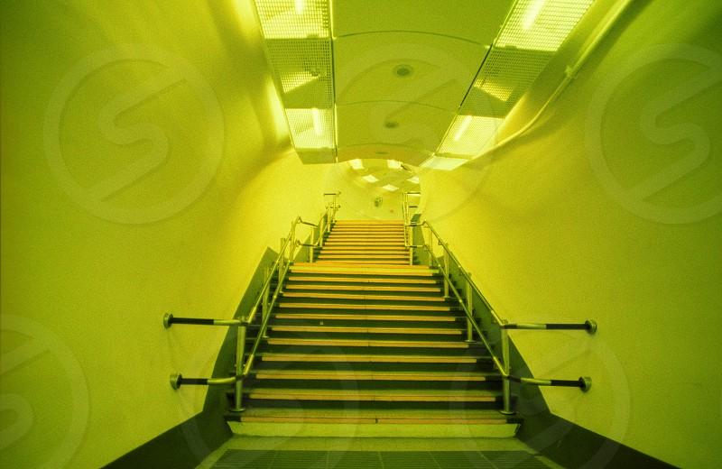 path underground tube London photo