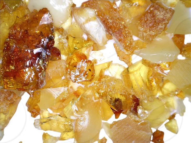 amber stones photo