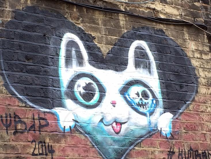 Murales nearly Islington London photo