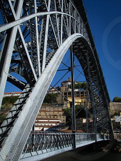 Porto bridge steel photo