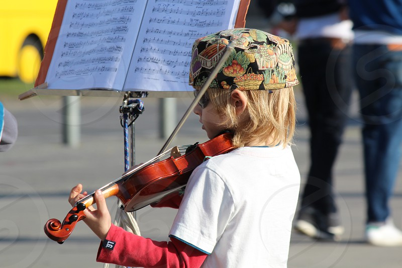 Young musician photo