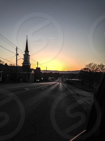 Sunset Chapel Virginia Car ride photo