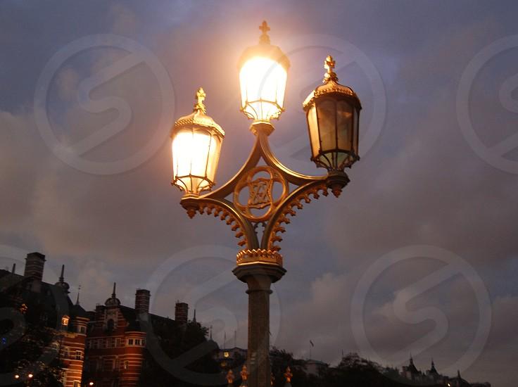 London lights photo