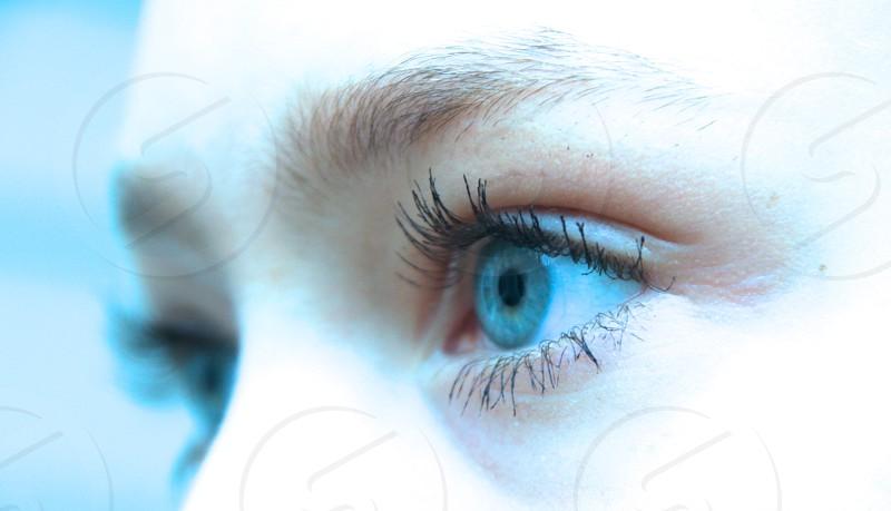 long eyelashes photo
