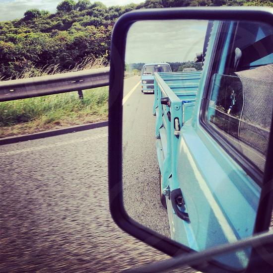 Vw Volkswagen t25 type 25 pick up truck van vehicle motorway  photo