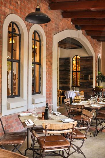 Exterior of The Stellenbosch Wine Bar & Bistro Windhoek Namibia photo