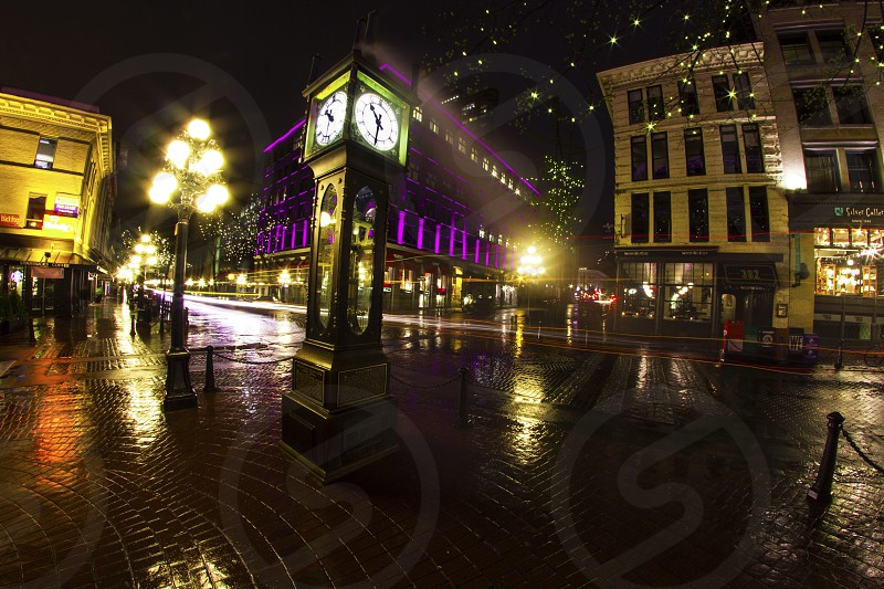 Gas town Vancouver Canada  photo
