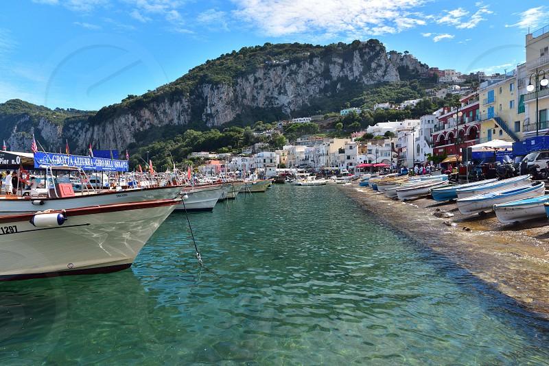 Capri in Italy photo