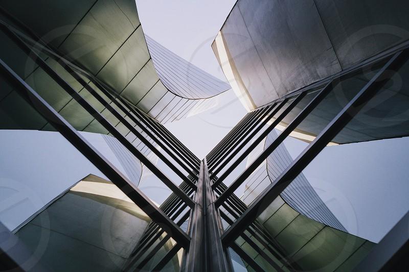 fiber glass wall building photo