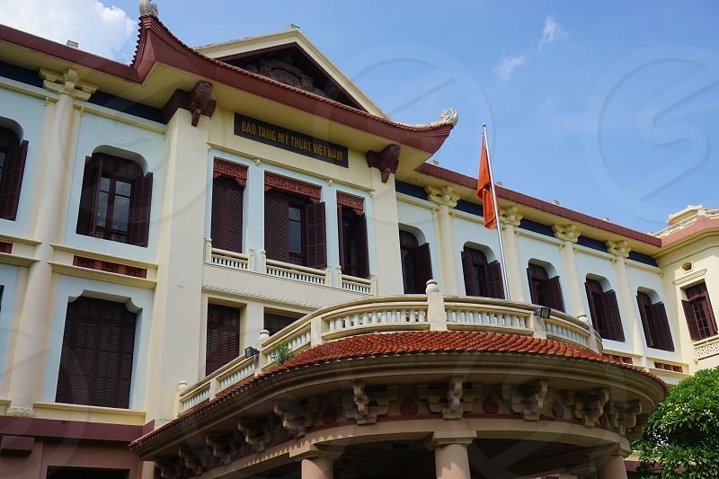 Vietnam Fine Arts Museum - Hanoi Vietnam photo
