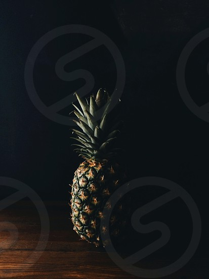 kitchen window light + a healthy pineapple photo