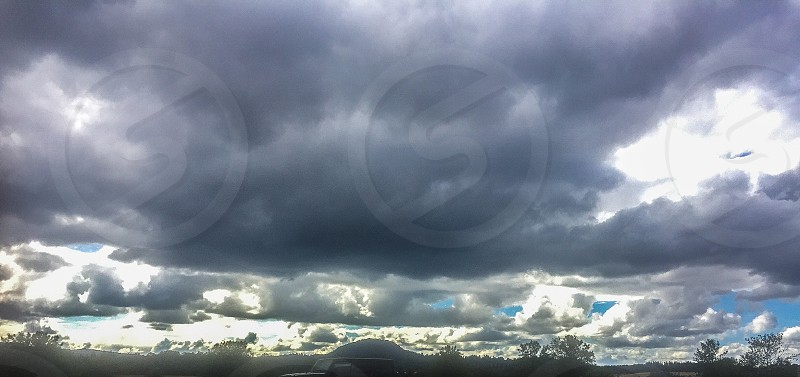 clouds during daytime photo