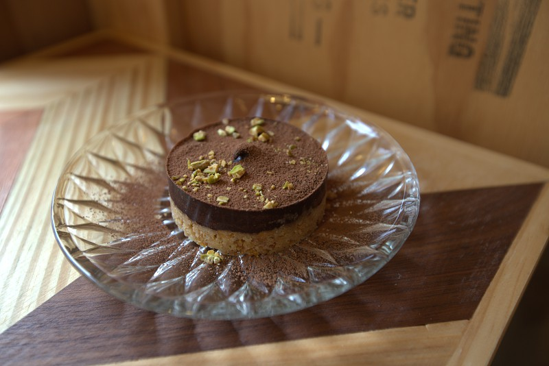 Chocolate tart at Debut Cafe Taipei Taiwan photo