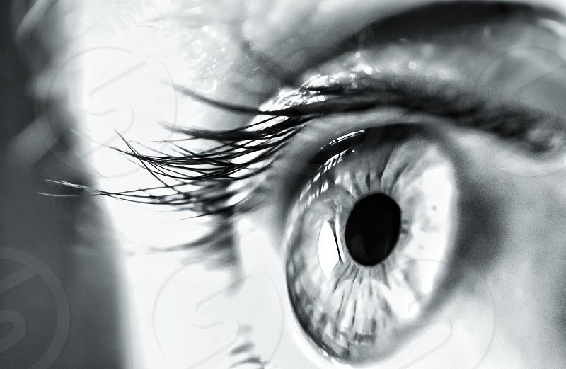 human right eye photo