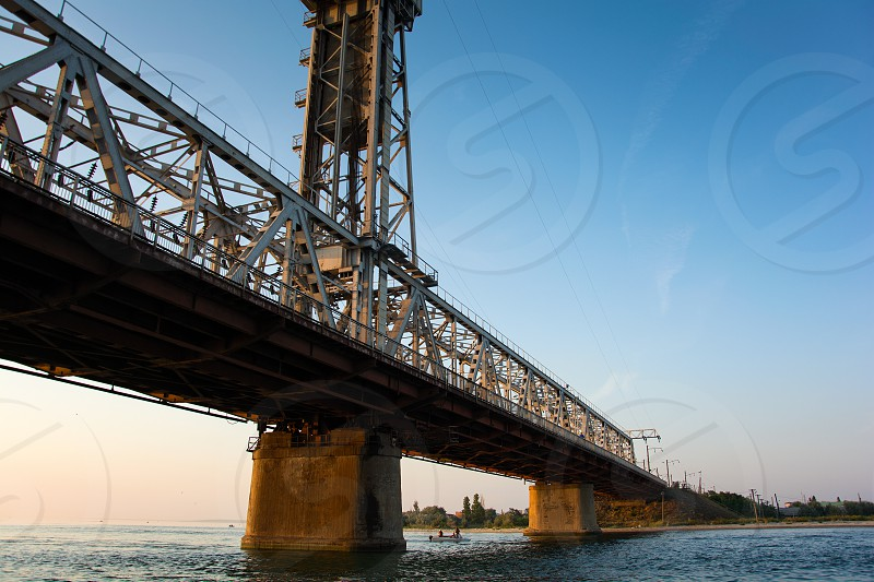 Drawbridge. Zatoka. Odessa region  photo