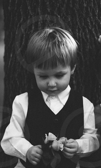 child dressed up photo