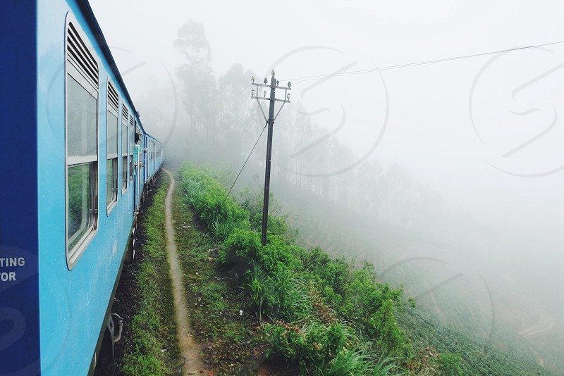 travel·train·Sri Lanka·haputale photo