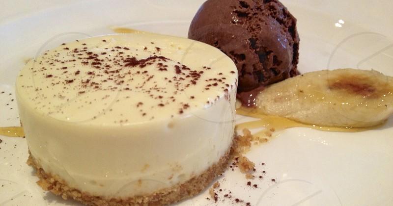 Cheesecake and Ice Cream photo
