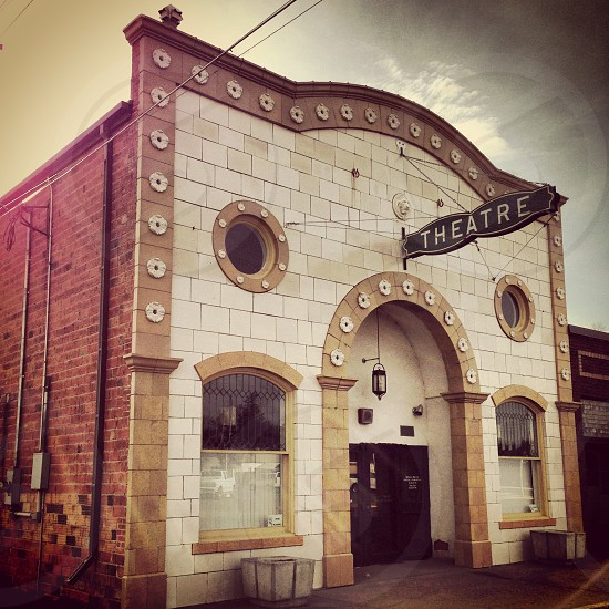 Old movie theatre photo