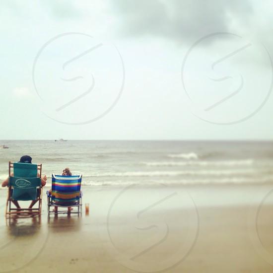 Couple beachside photo