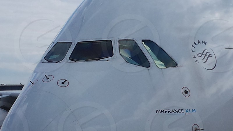 Air France A380 airplane aircraft airbus double decker photo