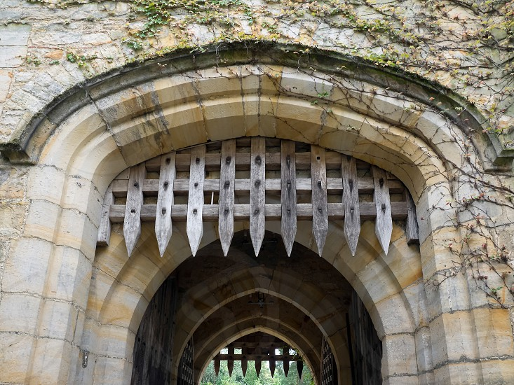 The Portcullis at Hever Castle photo
