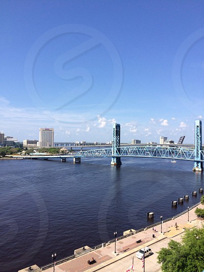 Jacksonville FL bridges to downtown photo