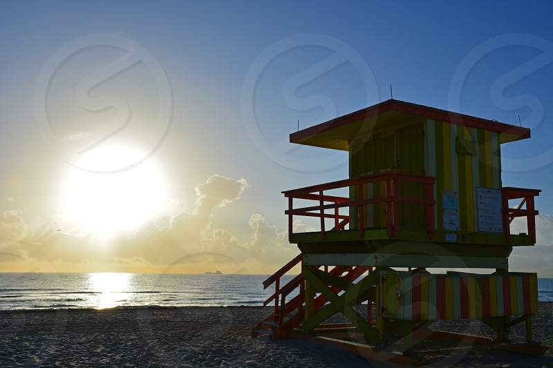 Miami Beach (Florida) will always remain a classic destination for spring break! photo
