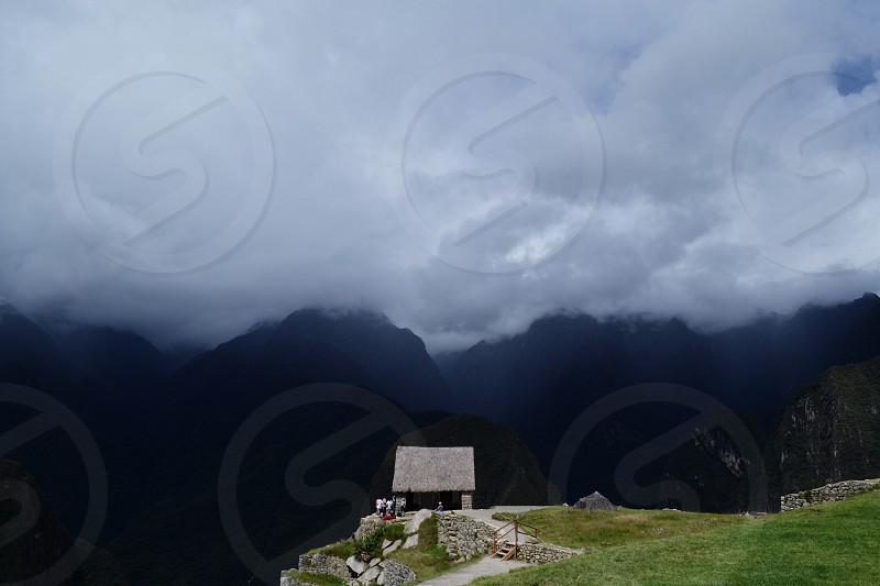 Above it all. Machu Picchu Peru photo