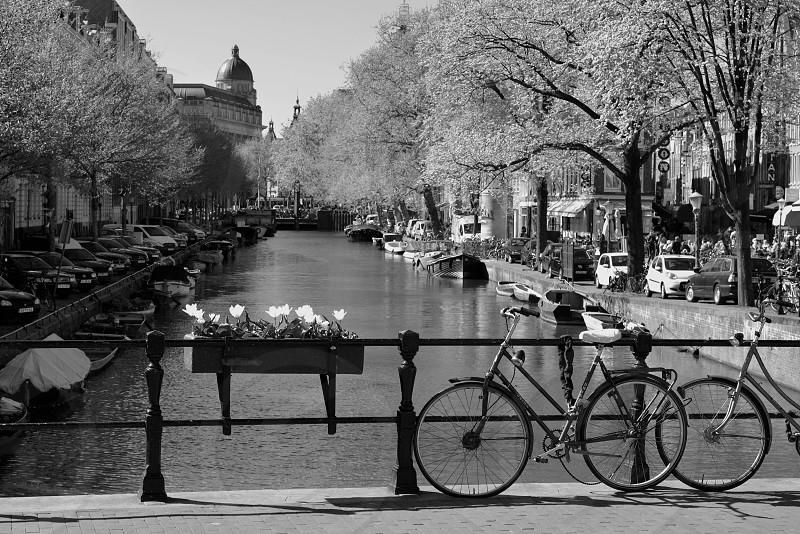 Bridge parking for this bike photo