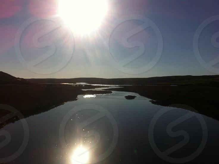Drakes Bay high tide 2013 photo