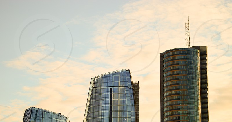 Three buildings photo