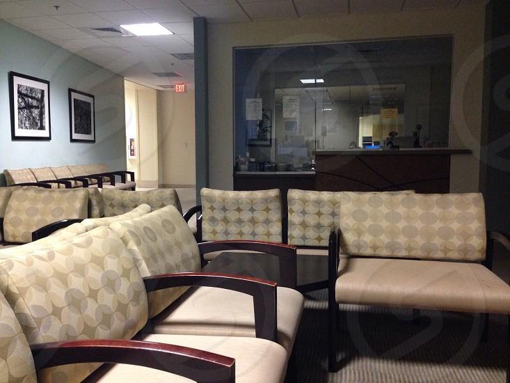 Hospital lobby photo