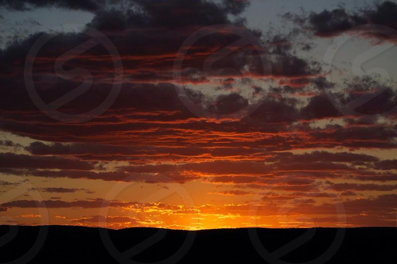 Australian sunset photo