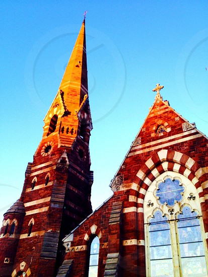 Church cathedral architecture history historical detail building beauty skyline sky hartford ct religious  photo