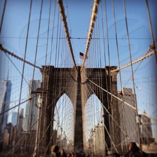 Brookyn bridge  photo