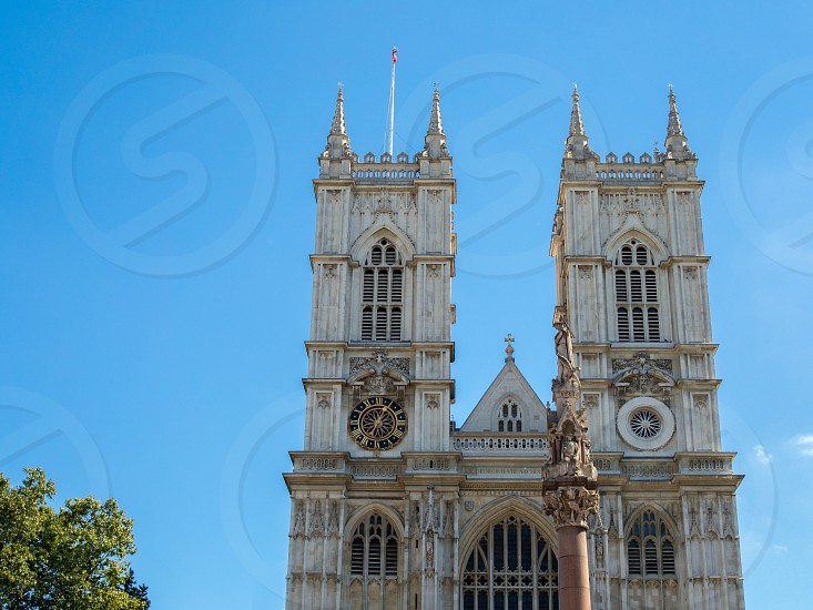 View of the Exterior of Westminster Abbey photo