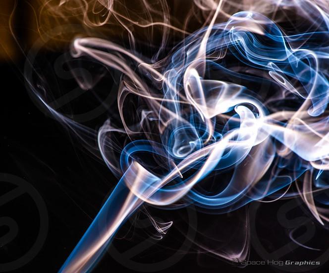 Black smoke photo