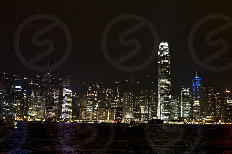 hong kong victoria harbor photo