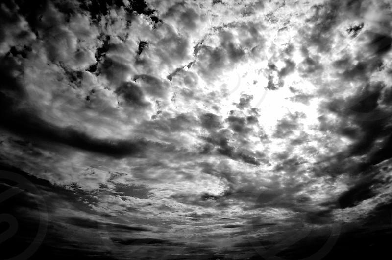 Neat sky. photo