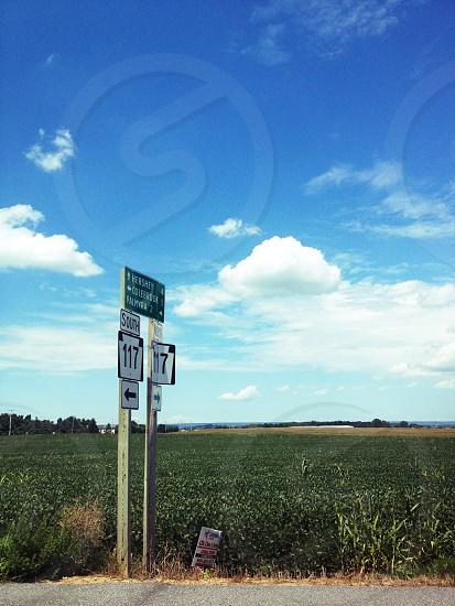 Countryside Pennsylvania Streetsign photo