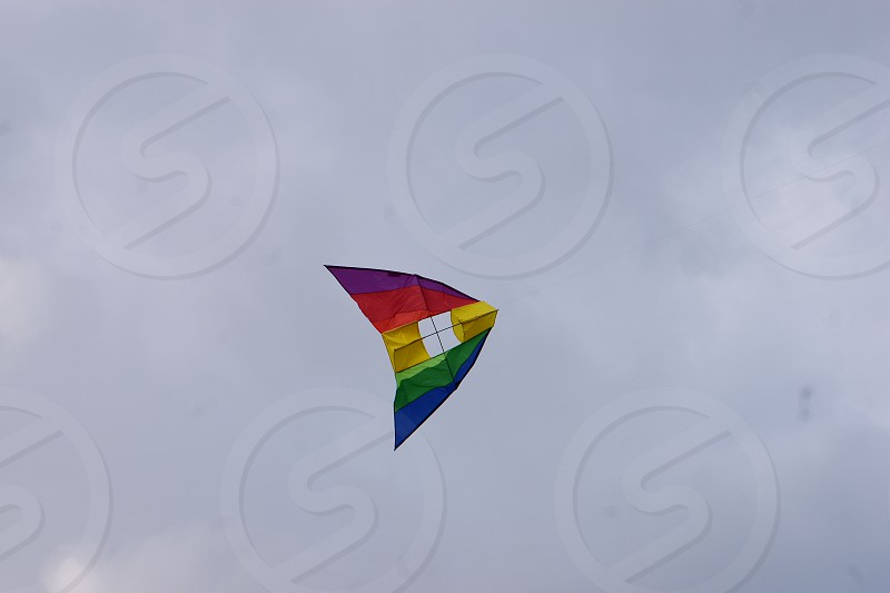 High flying kite photo