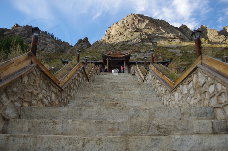 Temple of Mongolia Terelj photo