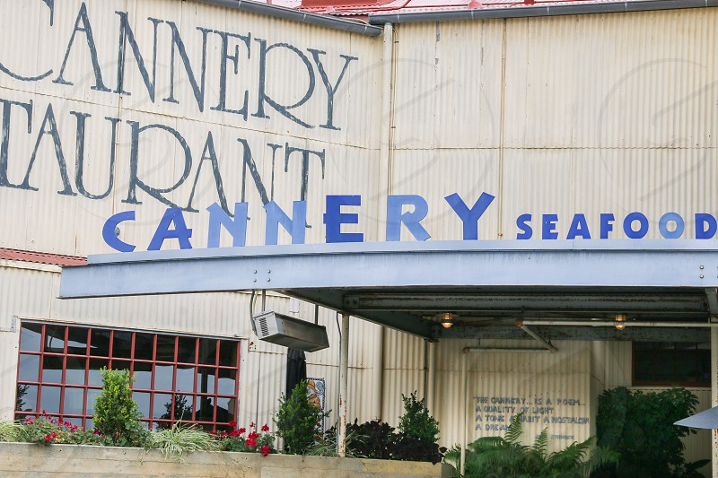 The Cannery entrance close up photo
