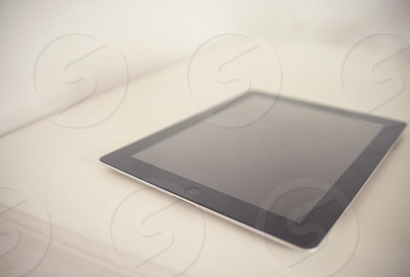 black ipad mini photo