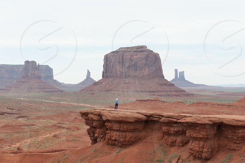 Monument Valley Navajo County Utah USA. photo