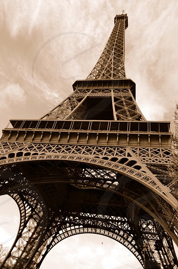 Eiffel Tower Paris France photo