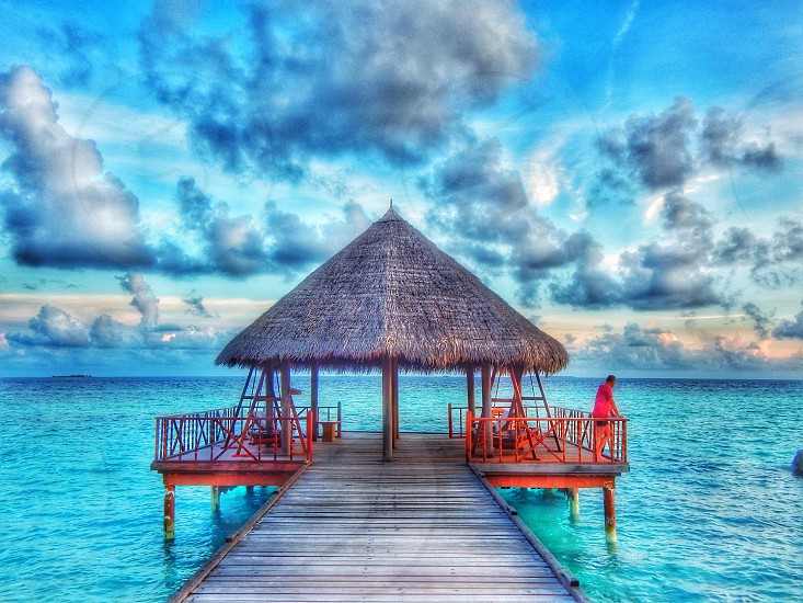 Vacation at Filitheyo island Maldives photo